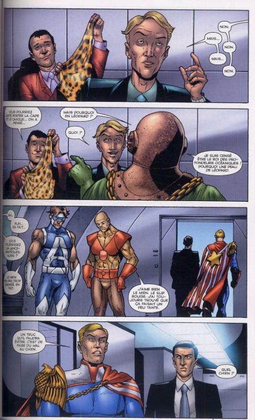 The Boys – édition souple, T9 : Question de survie (0), comics chez Panini Comics de Ennis, Burns, McCrea, Ezquerra, Aviña, Robertson