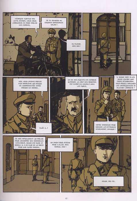 Lawrence d'Arabie T2 : En route pour Damas (0), bd chez Emmanuel Proust Editions de Tarek, Horellou