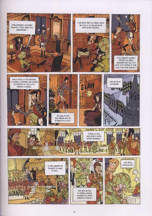 Le tsar fou T3 : Vox populi, vox Dei (0), bd chez Emmanuel Proust Editions de Tarek, Chouin, Bouchard