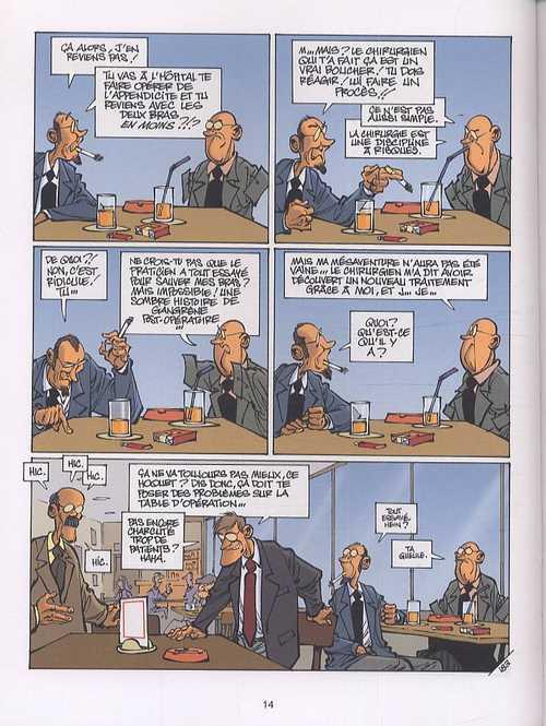 Histoires à lunettes T5 : Le monde est flou (0), bd chez Dupuis de Clarke