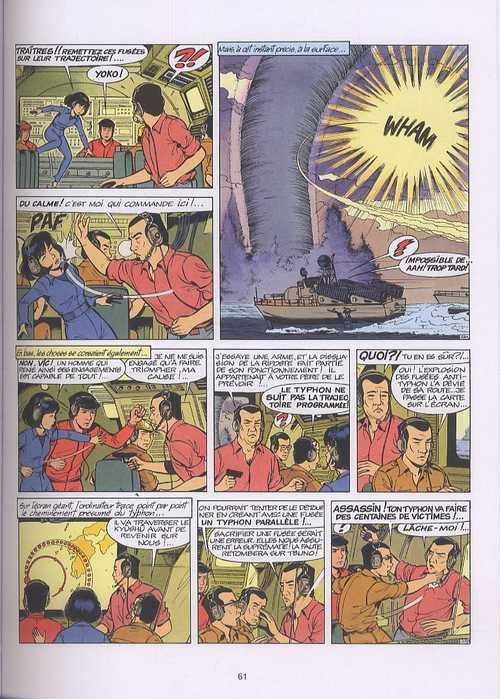 Yoko Tsuno T7 : Intégrale 7 - Sombres complots (1), bd chez Dupuis de Leloup, Léonardo