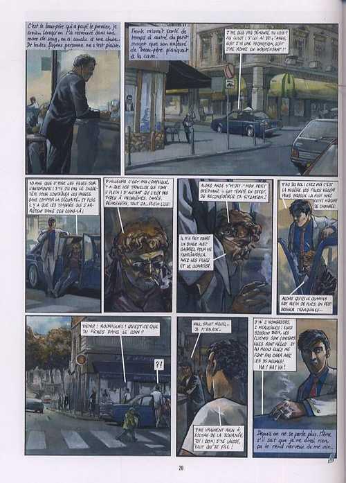 Histoires d'en ville, bd chez Glénat de Berlion