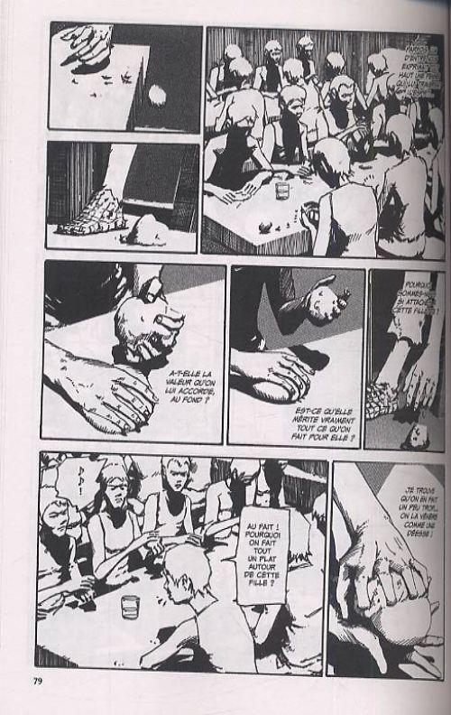 The outsider , manga chez Glénat de Tanabe