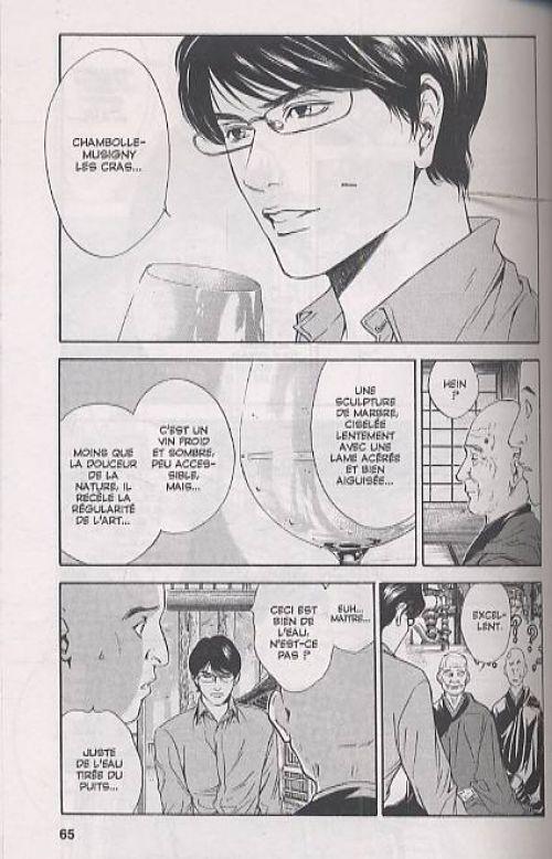 Les gouttes de Dieu T5, manga chez Glénat de Agi, Okimoto