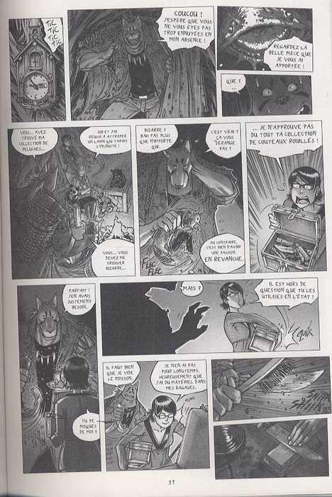 """Freaks' Squeele – Version classique, T2 : Les chevaliers qui ne font plus """"Ni"""" ! (0), bd chez Ankama de Maudoux"""