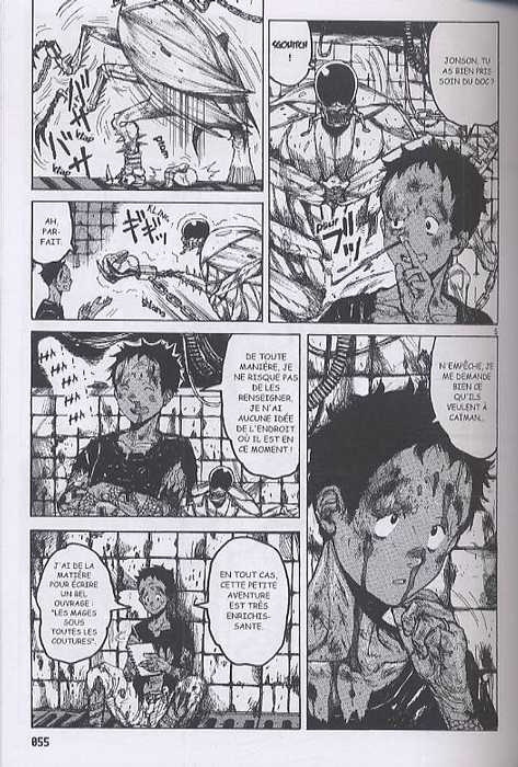 Dorohedoro T6, manga chez Soleil de Hayashida-Q