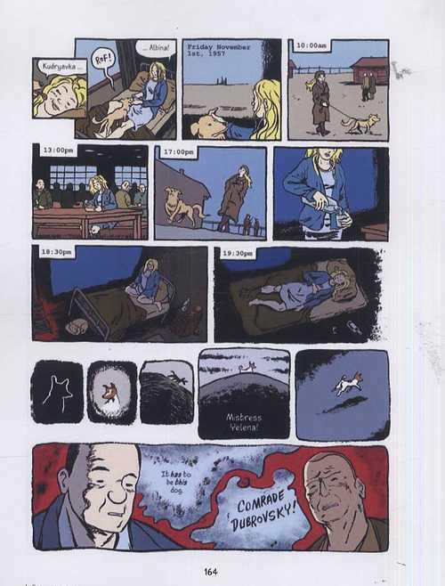 Laïka, comics chez Dargaud de Abadzis, Sycamore