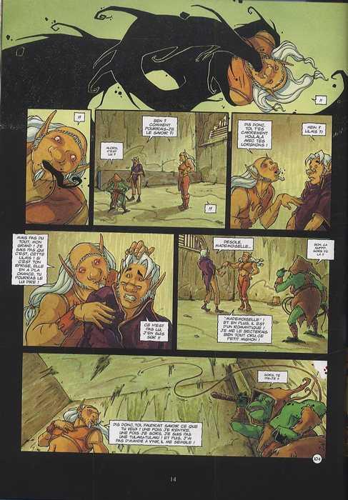 Les sheewowkees T3 : Le grand secret (0), bd chez Delcourt de Mosdi, Brazao