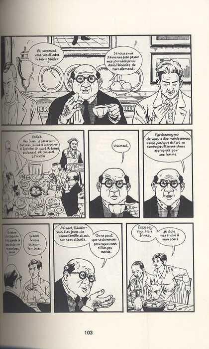 Berlin T1 : La cité des pierres (0), comics chez Delcourt de Lutes