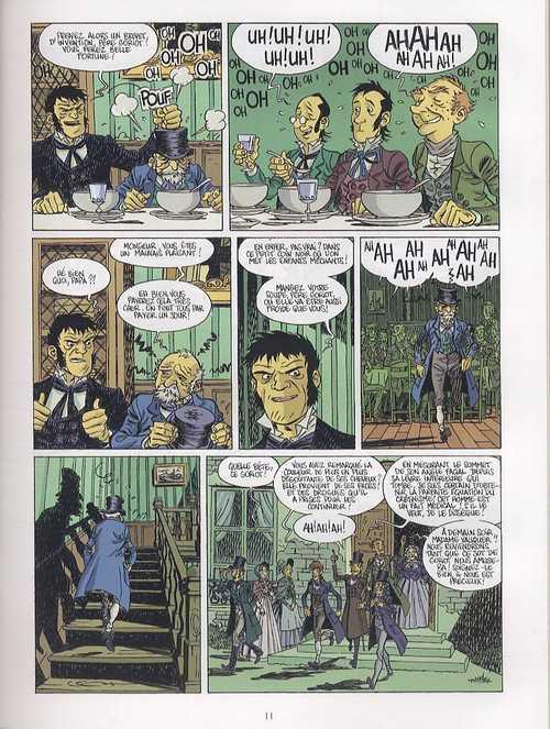 Le père Goriot, de Balzac T1, bd chez Delcourt de Lamy, Thirault, Duhamel