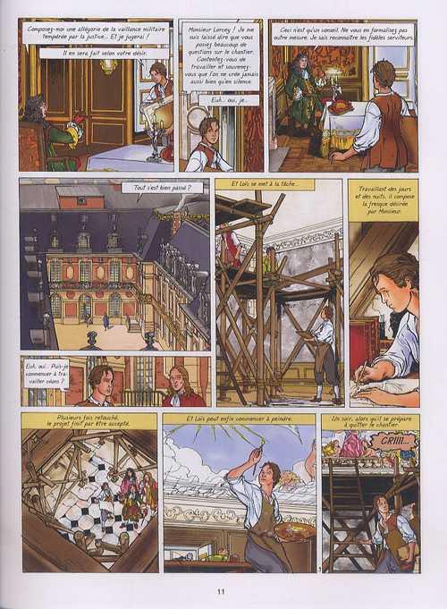 Loïs T4 : Monsieur, Frère du roi (0), bd chez Casterman de Weber, Martin, Pâques, de Vuist