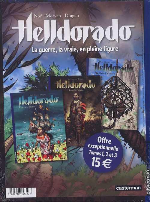 Helldorado T3 : Todos enfermos ! (0), bd chez Casterman de Miroslav Dragan, Morvan, Noé