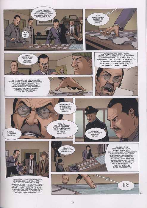 Dossier tueurs en série T3 : L'étrangleur de Boston (0), bd chez Soleil de Chouraqui, Fino, Charalampidis