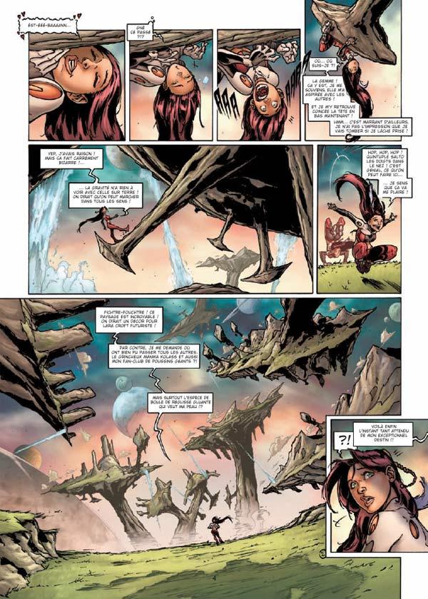 Tessa, agent intergalactique T5 : Où il y a de la gemme... (0), bd chez Soleil de Mitric, Louis, Lamirand