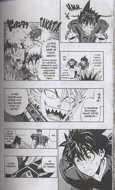 Eye Shield 21 T23 : Vers le grand affrontement... (0), manga chez Glénat de Inagaki, Murata
