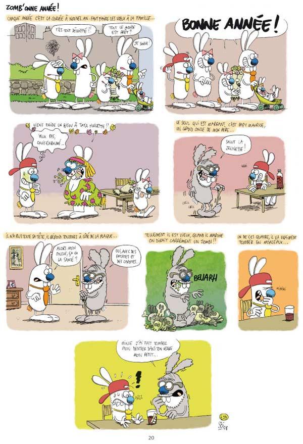 Les rabbit T2 : Le Coup du lapin  (0), bd chez Paquet de Sti, Ruiz