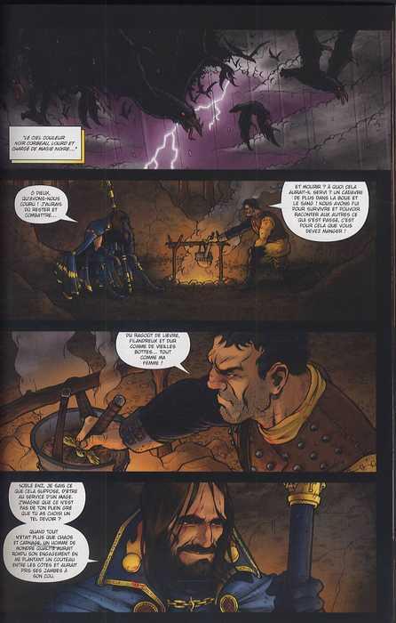 Warhammer T2 : Les forces du chaos (0), comics chez Soleil de Edginton, Abnett, Ekedal, Vanden bosch