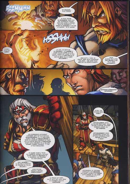 World Of Warcraft Porte-Cendres T1 : A la poussière tu retourneras (0), comics chez Soleil de Neilson, Lullabi, Washington