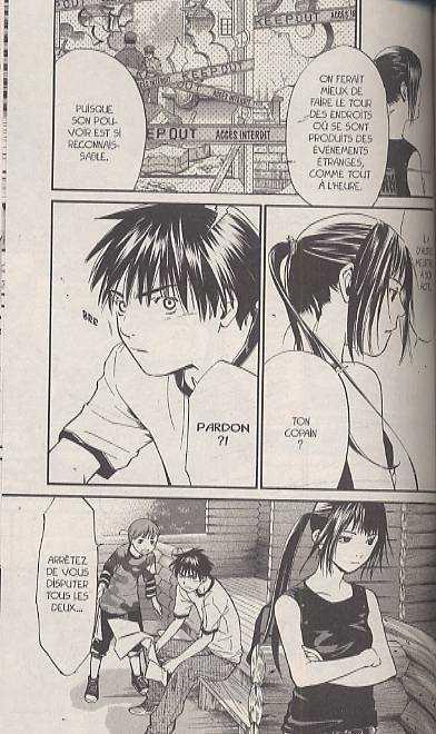 Alive - Last evolution  T6, manga chez Pika de Adachi, Kawashima