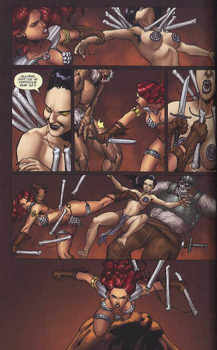 Red Sonja T4 : La reine des steppes gelées (0), comics chez Panini Comics de Murray, Cho, Homs, Muray