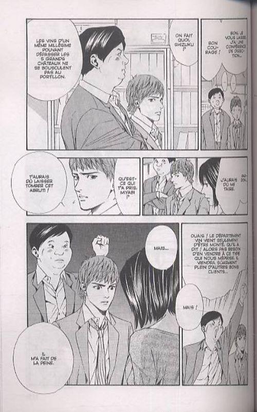 Les gouttes de Dieu T6, manga chez Glénat de Agi, Okimoto