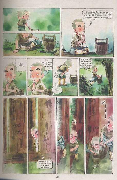 La voie de la Sagesse T1 : Le printemps de Poussière (0), manga chez Xiao Pan de Ji An