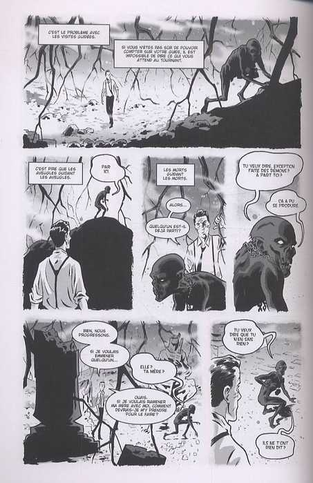 The Damned – version noir et blanc, T2 : Les fils prodigues (0), comics chez Akileos de Bunn, Hurtt