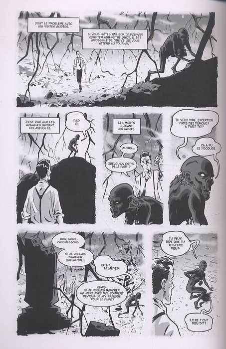 The Damned – version noir et blanc, T2 : Les fils prodigues (0), comics chez Akileos de Bunn, Hurtt