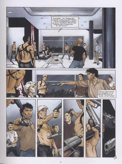 Les nuits écorchées T2 : La chute des corps  (0), bd chez Daniel Maghen de Penet