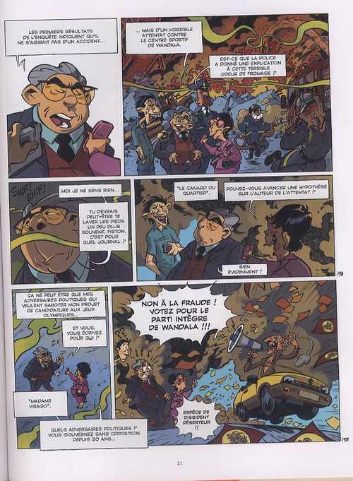 Les patriciens T1 : L'imagination au pouvoir (0), bd chez Glénat de Canales, Gabor