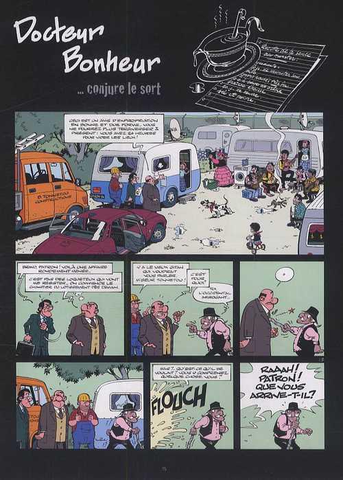 Docteur Bonheur T3 : Bienvenue à bonheurland (0), bd chez Le Lombard de Clarke, Turk, Kael