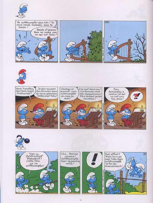 Les blagues de Schtroumpfs T3 : 120 blagues et autres surprises (0), bd chez Le Lombard de Peyo
