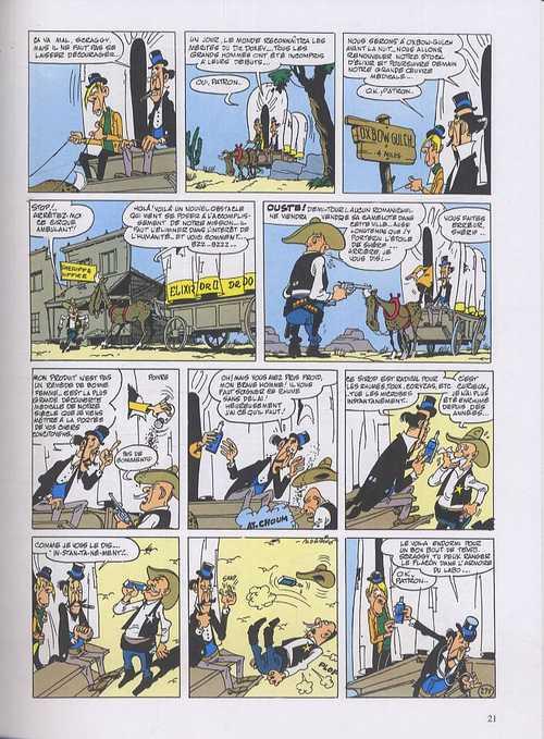Lucky Luke T3 : Intégrale 3 (1952-1956) (1), bd chez Dupuis de Goscinny, Morris