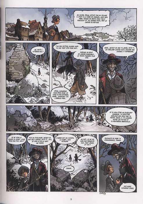 Les contes du Korrigan T10 : L'Ermite de haute folie (0), bd chez Soleil de Collectif