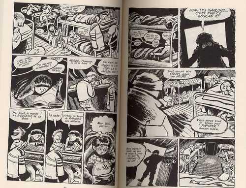 Blankets : Manteau de neige (0), comics chez Casterman de Thompson