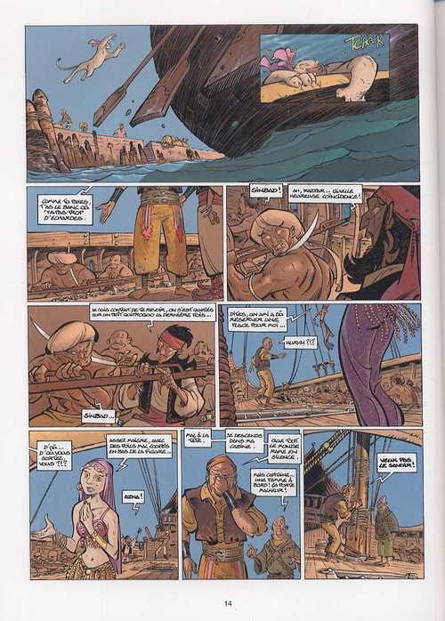 SinBad T2 : La Griffe du génie (0), bd chez Soleil de Alwett, Arleston, Alary, Fernandez