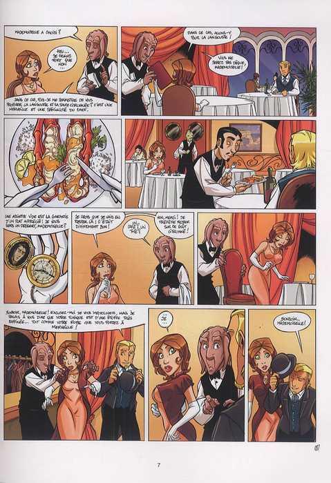 Arcanes du Midi-Minuit T7 : L'Affaire Rivendalwn (0), bd chez Soleil de Gaudin, Trichet, Guillo
