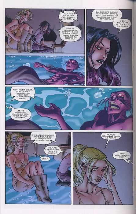 Buffy contre les vampires - Saison 8 T4 : Autre temps, autre tueuse (0), comics chez Fusion Comics de Whedon, Moline