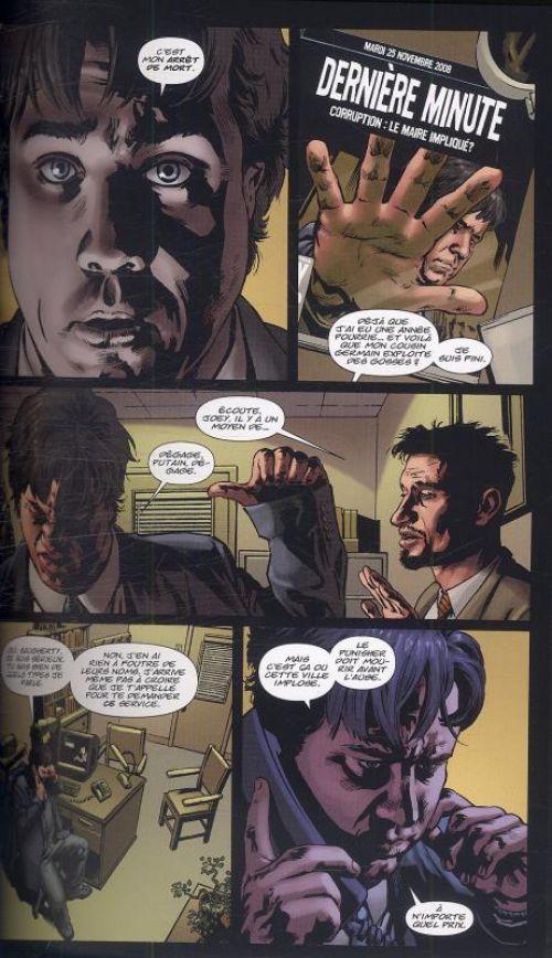 The Punisher – Max Comics, T16 : Six heures à vivre (0), comics chez Panini Comics de Swierczynski, Lacombe, Staples, Johnson