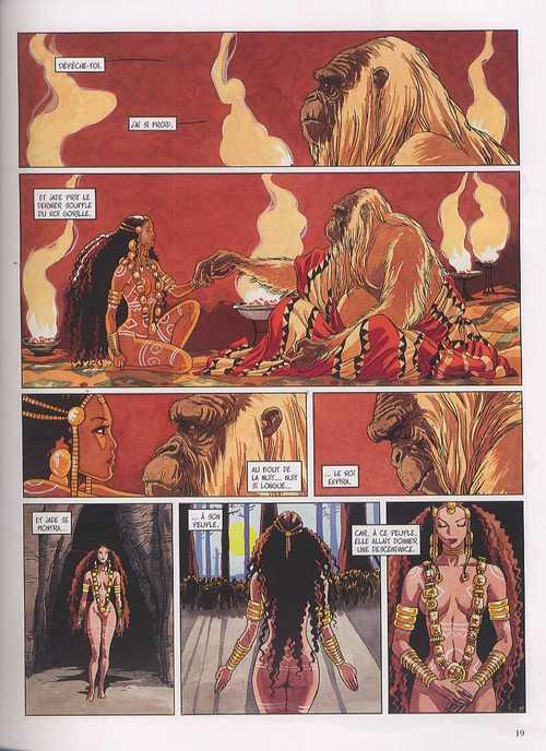 Djinn – cycle 2 : Africa, T9 : Le roi gorille (0), bd chez Dargaud de Dufaux, Miralles
