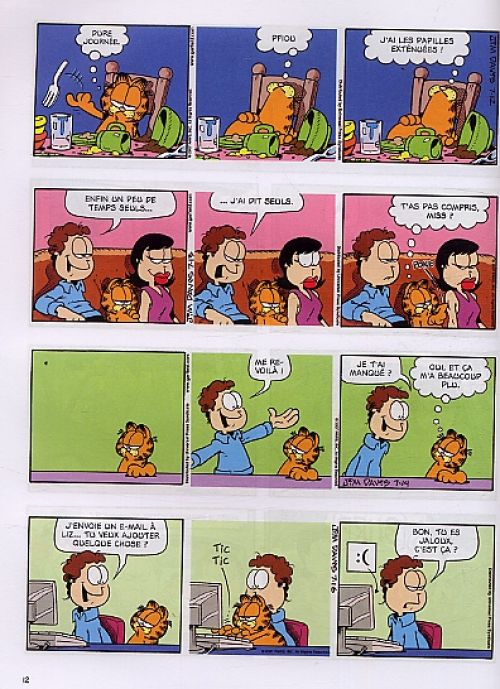 Garfield T53 : Chat déchire ! (0), comics chez Dargaud de Davis