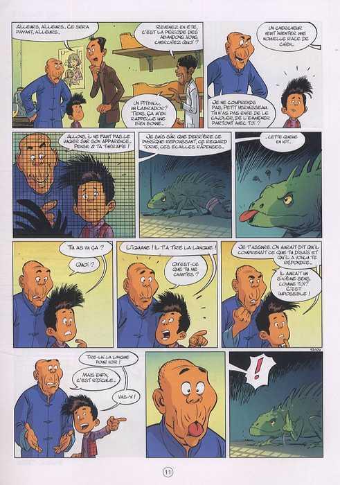 Mon pépé est un fantôme T2, bd chez Dupuis de Barral, TaDuc, Petrimaux, Brozda