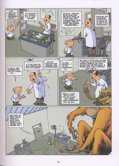 Histoires à lunettes T1 : Par-delà le point focal (0), bd chez Dupuis de Midam, Clarke, Lau