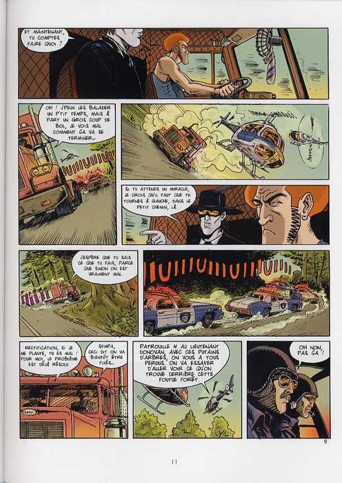 Chewing-gun T2 : Foxy Lady (0), bd chez Delcourt de Ozanam, Lannoy, Zelig