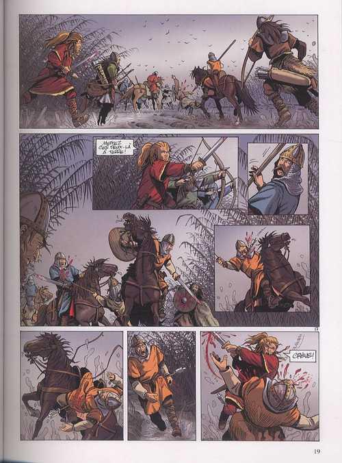 Hammerfall T4 : Ceux qui savent (0), bd chez Dupuis de Runberg, Talijancic, Häflinger