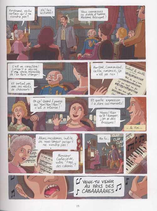 Les Aventures prodigieuses de tartarin de Tarascon, d'Alphonse Daudet T1, bd chez Delcourt de Merlet, Rouger