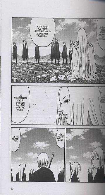 Claymore T13, manga chez Glénat de Yagi