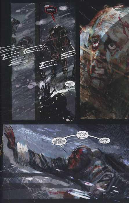 30 jours de nuit T4 : Au-delà de Barrow (0), comics chez Delcourt de Niles, Templesmith, Sienkiewicz