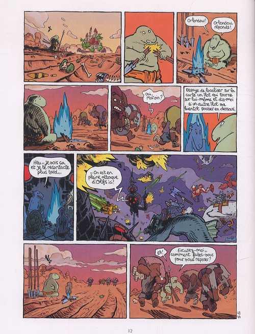 Donjon Crépuscule T106 : Révolutions (0), bd chez Delcourt de Trondheim, Sfar, Obion, Walter
