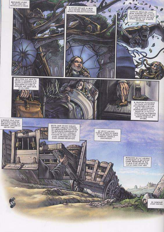 Le malvoulant T3 : Le carnet (0), bd chez Delcourt de Corbeyran, Marcel